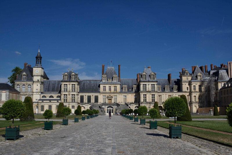 chateau de fontainebleau - 1