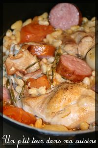 Cassoulet lapin