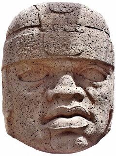 Vestige Olmèque - Cabeza Colosal nº1 del Museo Xalapa blank (Copier) (Copier)
