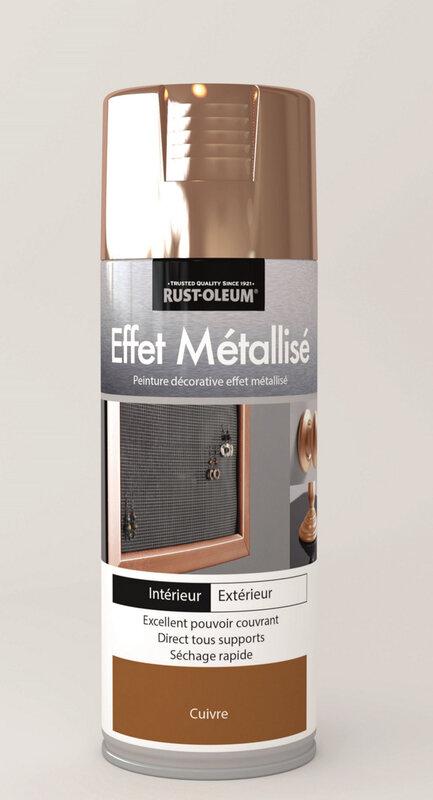 Aérosol métallisé cuivre