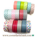 Masking tape - ficelle baker twine - petits sachets d'emballage