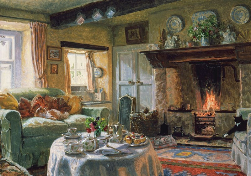 Cherry Scones for Tea by Stephen Darbishire