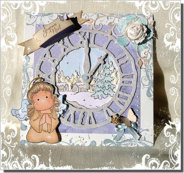 carte horloge