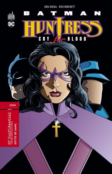 batman huntress cry for blood