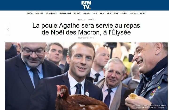 Photo-Macron-poule-Agathe