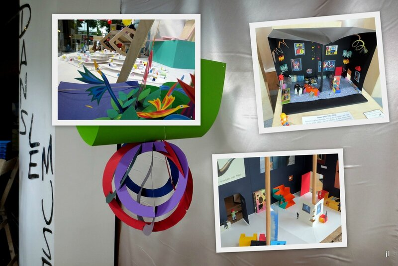 Dans le musée pop de VITRINE enfants de dialogues8