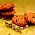 Cookies croustillants à la
