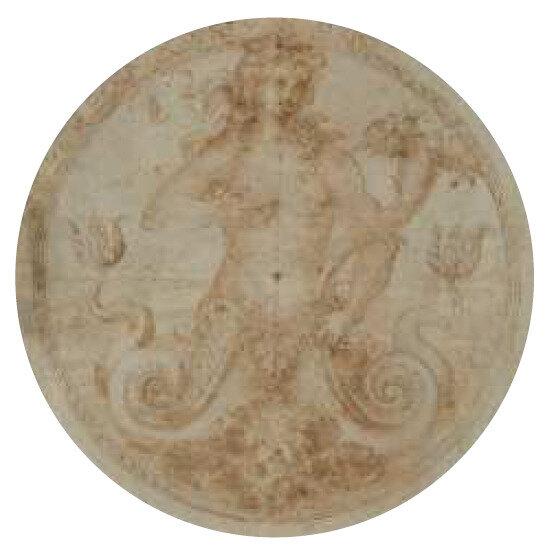 figure de sirène - école flamande du 16ème siècle