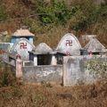 Curieux cimetière!