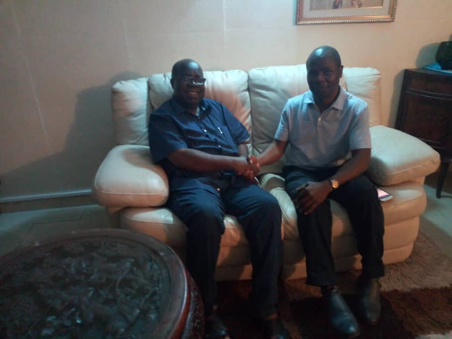 Le représentant du FPI au Canada, Gbogouri Luc chez le Vice-Président Gnagne Yadou Maurice