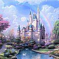 Fond d'éecran-chateau fantaisie grand