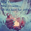 Happy new year to all of you !