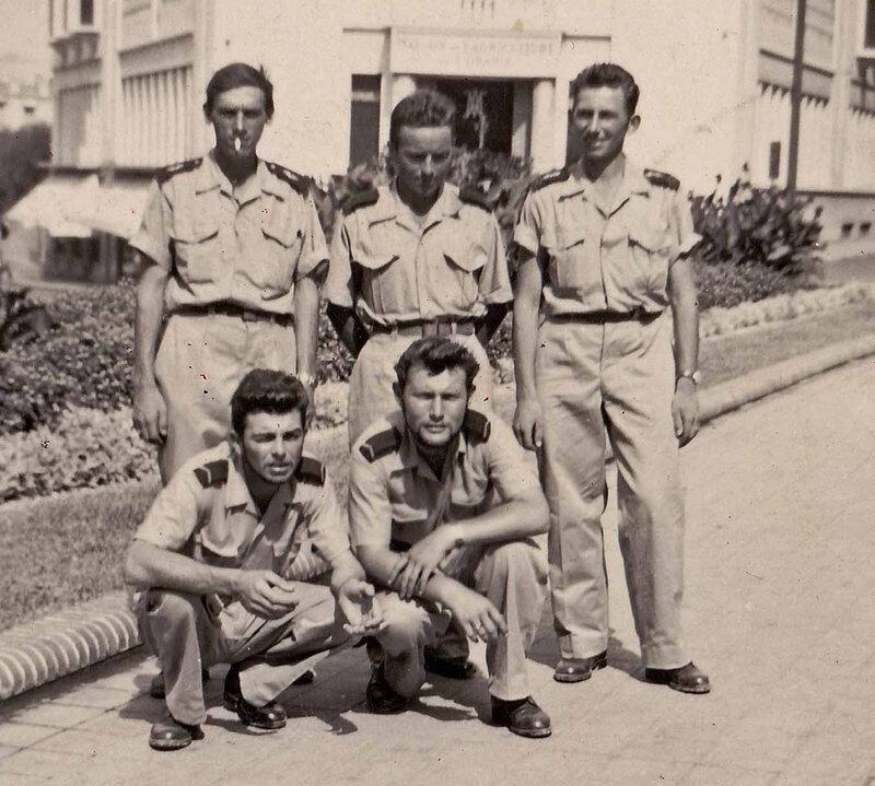 Victor Legrand pendant son service militaire en Algérie 04 à Oran B