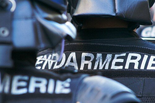 Gendarmerie mobile dossards