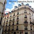 PARIS 17ème SQUARE DES BATIGNOLLES