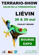 Affiche Terrario-Show Liévin Salon de la terrariophilie