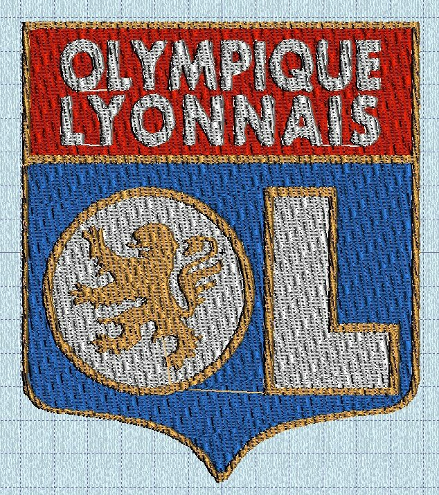 foot lyon blason machine