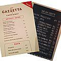 Gazzetta.... et dolce vita !