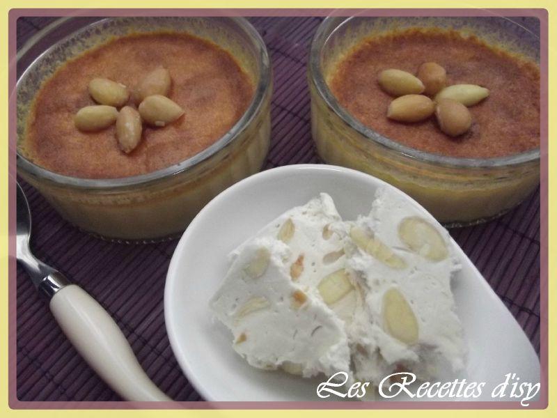 crème brulée au nougat1