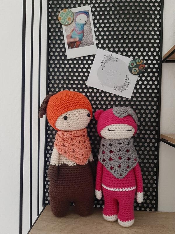 56 - Mini poupée 3