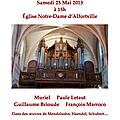 Concert de musique classique à alfortville