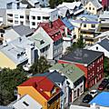 Pour clore ces vacances islandaises ... découvrir reykjavík.