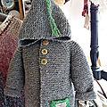 Manteau pour bébé d'hiver...