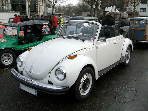 Volkswagen Super Beetle convertible version US 1974 1980 a
