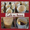Cakes en bocaux : cake zébré au banania*