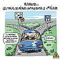 humour voiture limitation vitesse peage