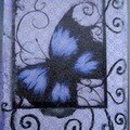 116 - Papillon bleu - 18/09/06 Papercrazy (Usa)