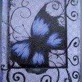 116 - Papillon bleu - 18/09/06 Papercrazy (Usa)