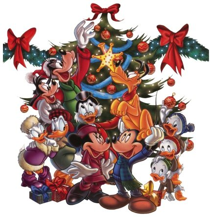 mickey-minnie-mouse-christmas-tree-group