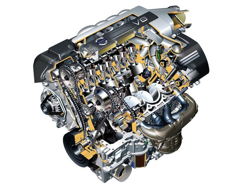 Volvo V8 4