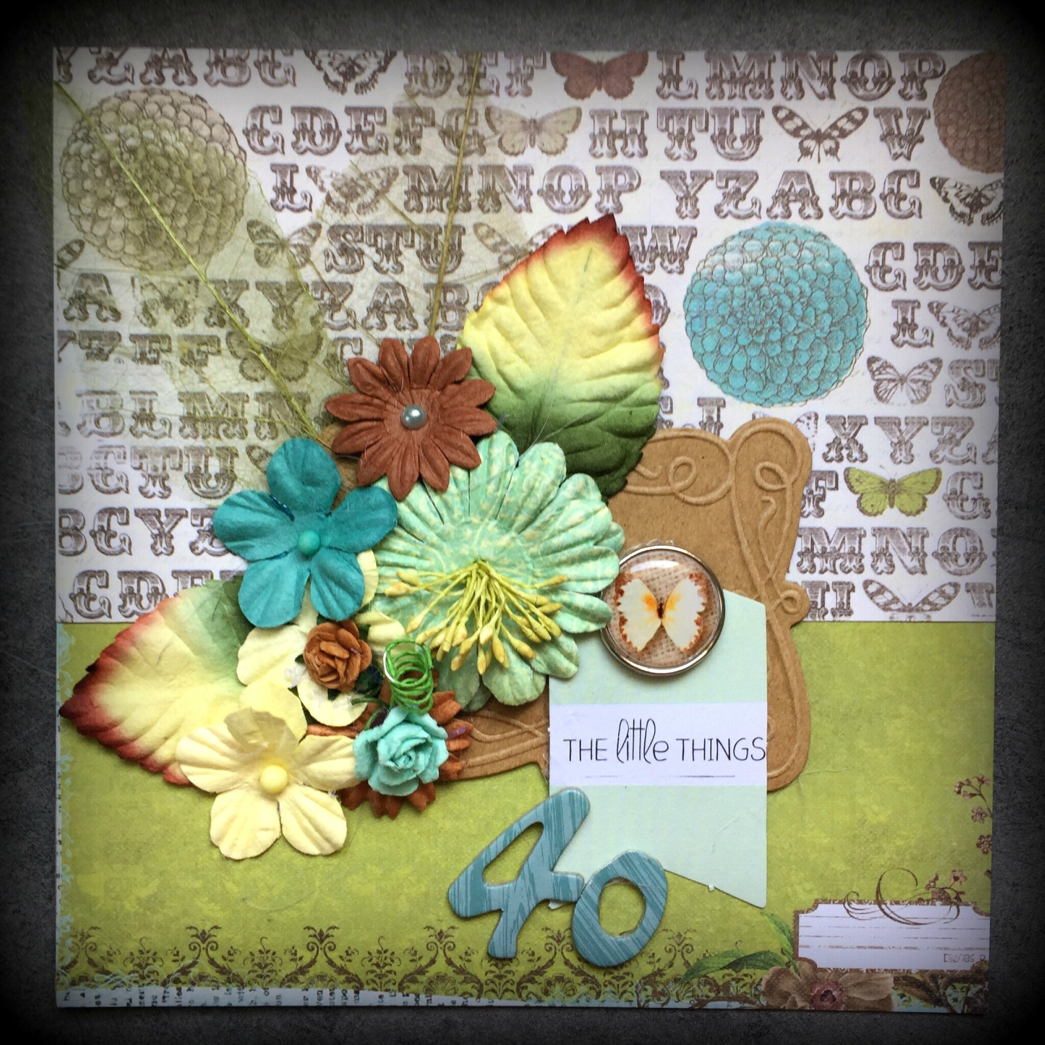 Défi Lift Carte - Avril 2017 pour scrap and co