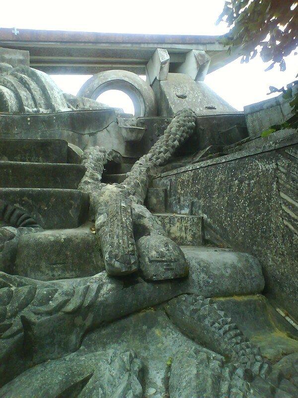 En gravissant les marches de l'amphi, admirez les détails...