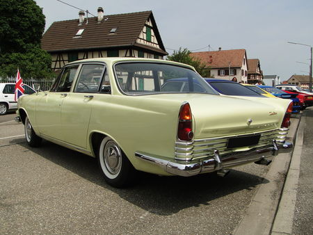 FORD Zodiac Mark III 1963 Lipsheim Retro 2010 2