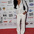 Amel au Fight Night 2015 à St Tropez
