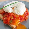 Tartine inspiration piperade