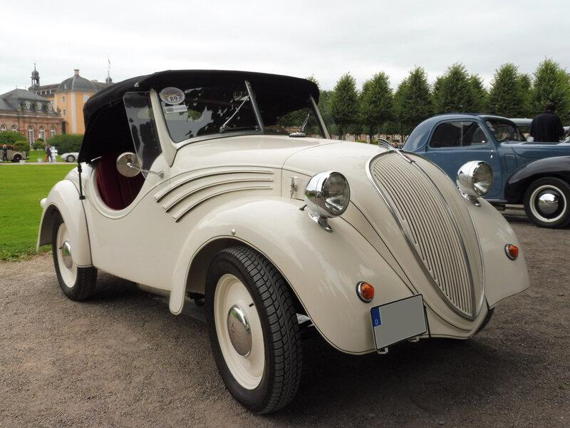 NSU FIAT 500 Topolino Weinsberg roadster 1939 Schwetzingen (1)
