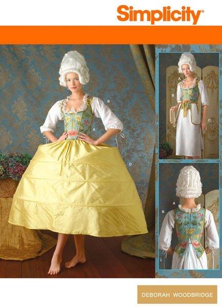 patron simplicity 7028_panier-corset