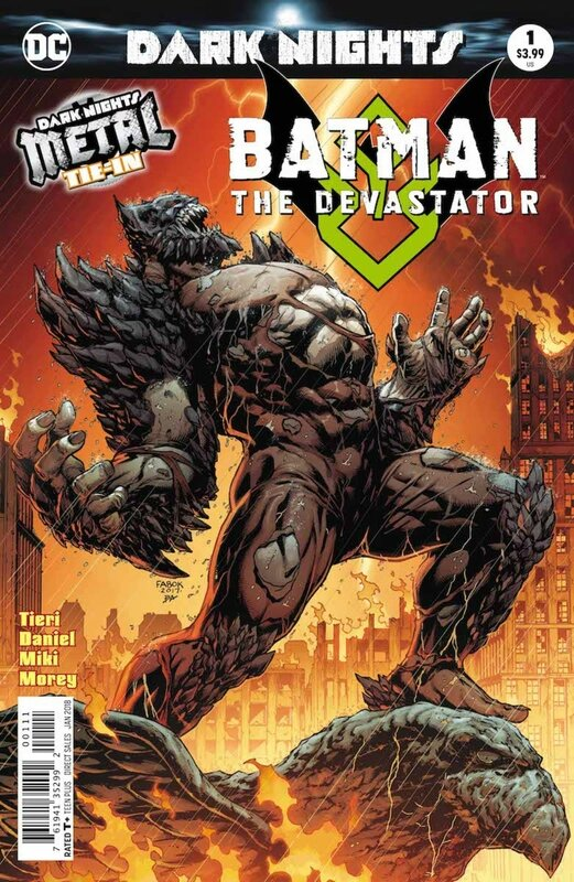 dark nights metal batman the devastator