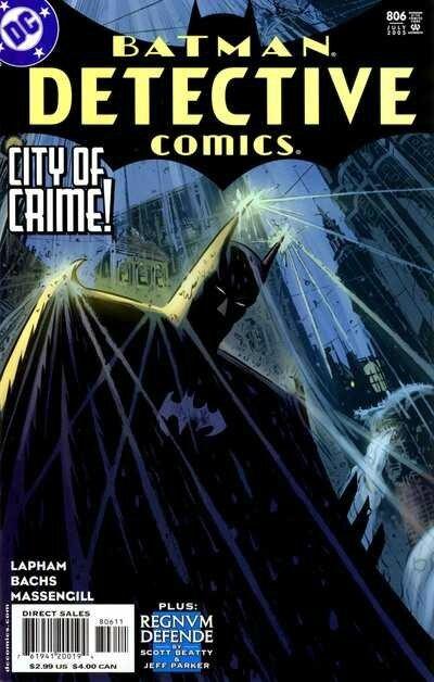 detective comics 0806