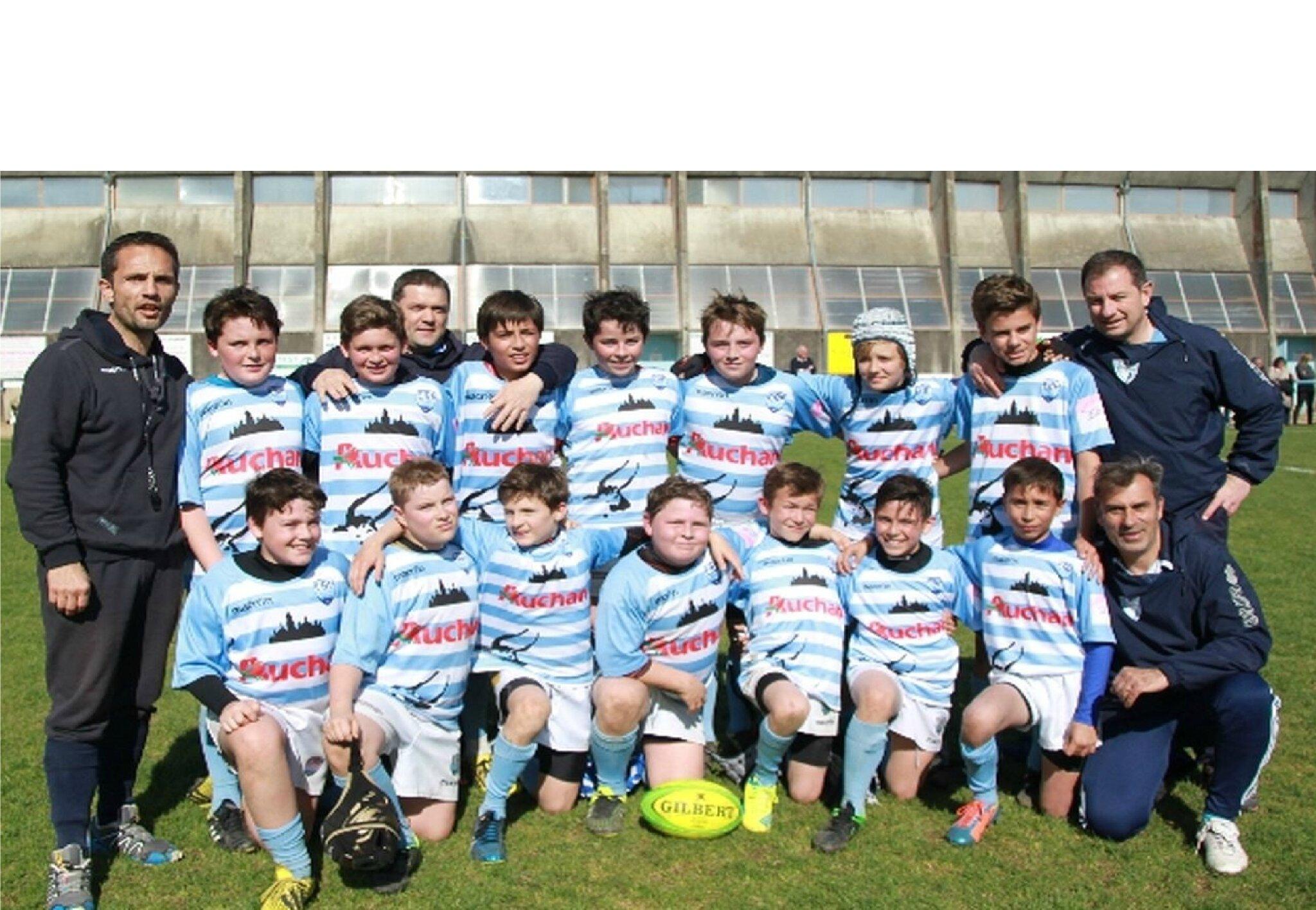 Les M12 (Equipe 1) Champions de Dordogne en Niveau A