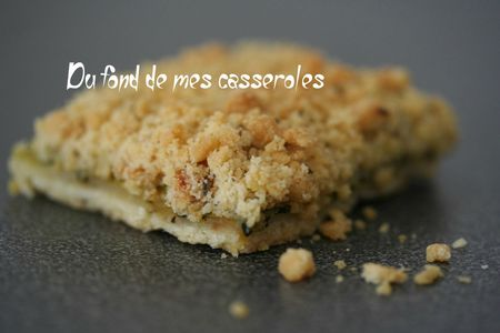 tarte crumble courgette1
