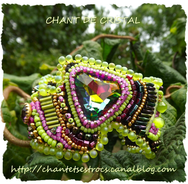 bracelet inspiré du Rocking' Wavy Cuff de Sherry Serafini's 4 - Copie