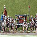 [peinture] king of war , mes cavaliers squelettes