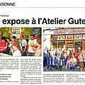 06 - 2016 - Expo GUT - Article LE PETIT JOURNAL