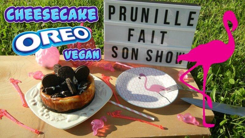 vignette cheesecake oreo vegan prunillefee