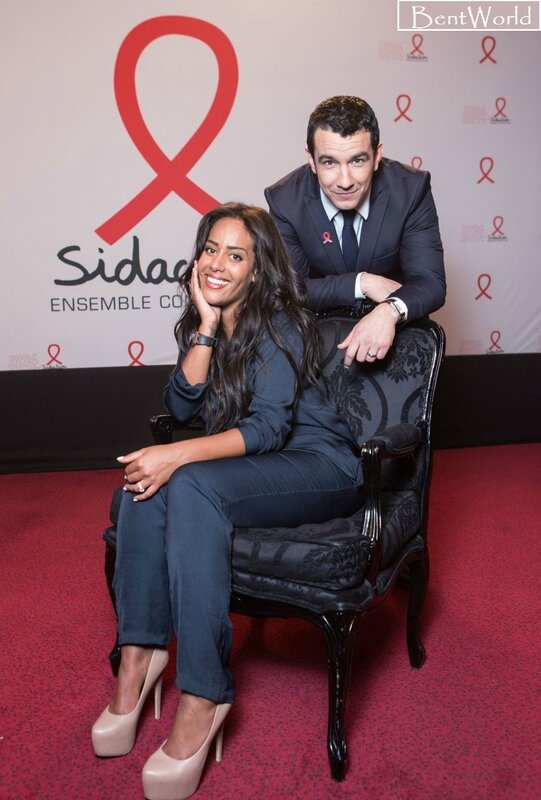 Amel Bent et Thomas Thouroude